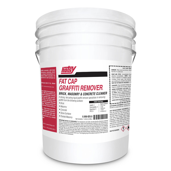 Fat Cap Graffiti Remover - Brick, Masonry & Concrete
